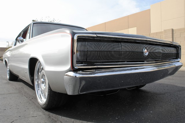 1967 Dodge Charger Chip Foose Overhaulin' SEMA Car low grille shot