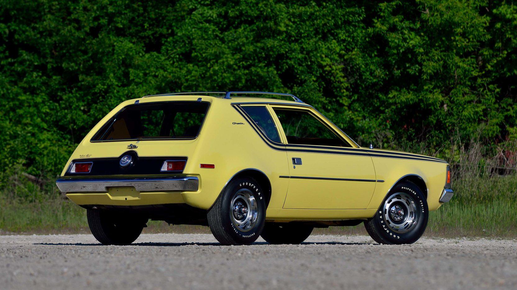 1972 AMC Gremlin rear 3/4