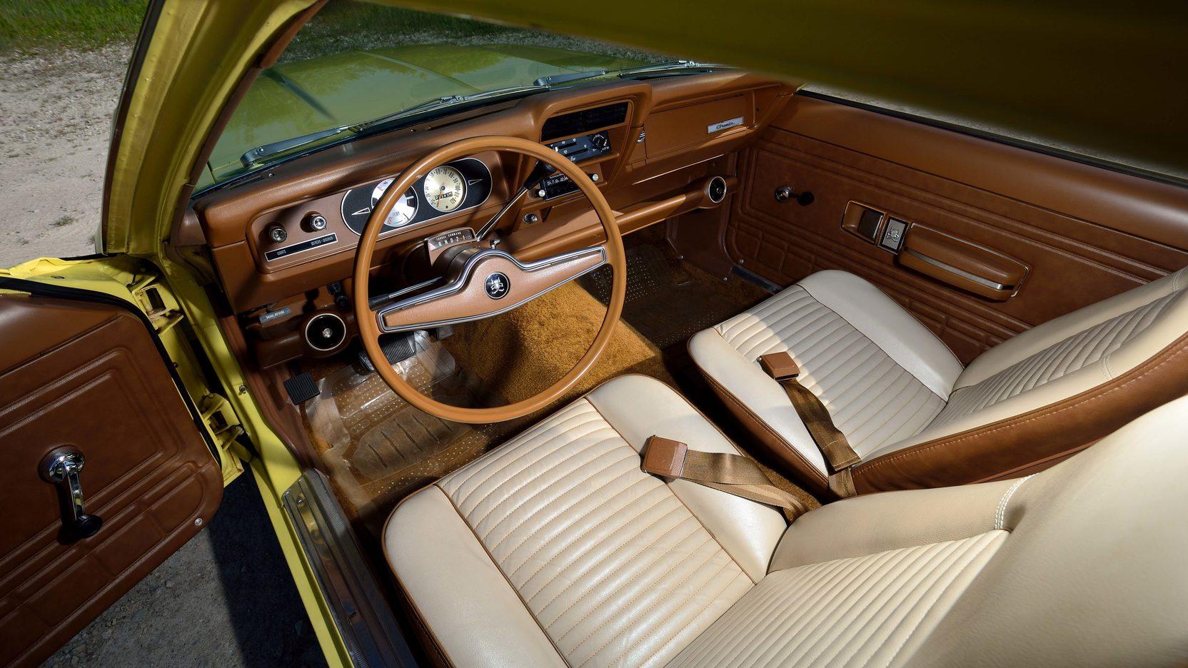 1972 AMC Gremlin interior