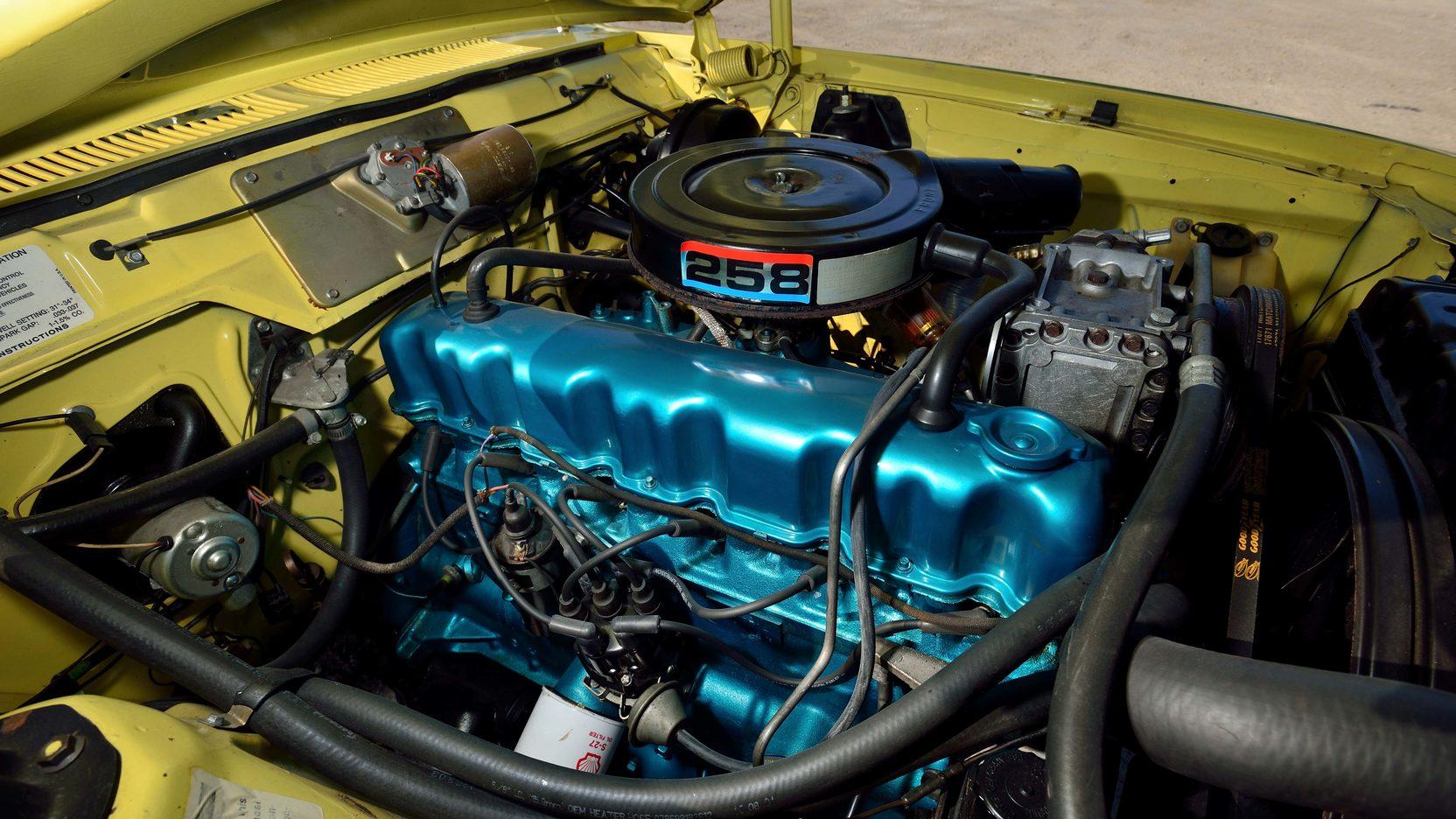 1972 AMC Gremlin engine