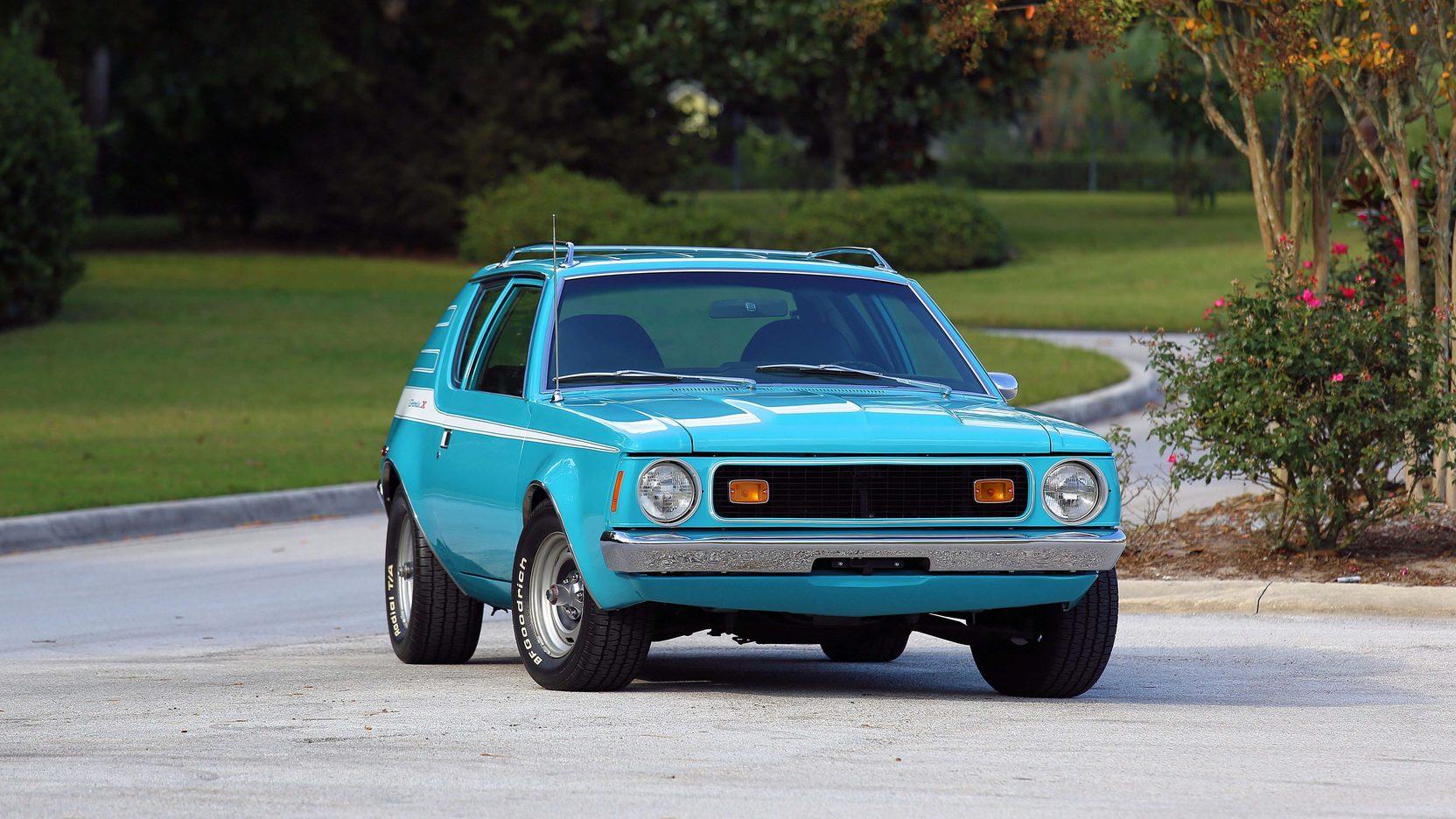 1972 AMC Gremlin X front