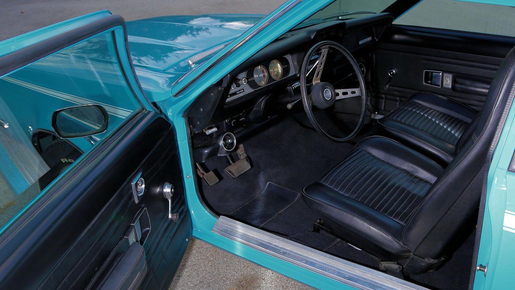 1972 AMC Gremlin X interior
