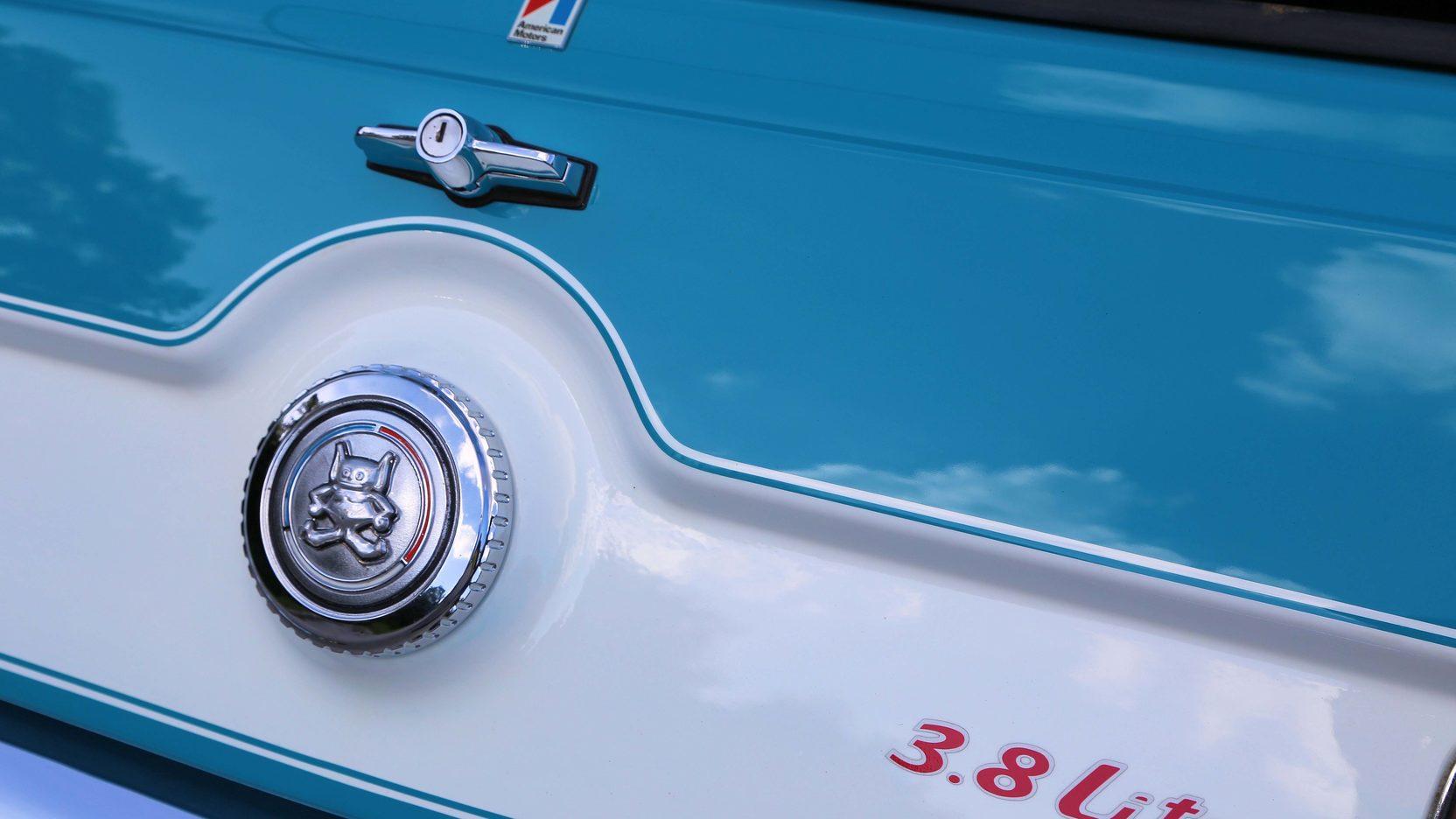 1972 AMC Gremlin X rear badge