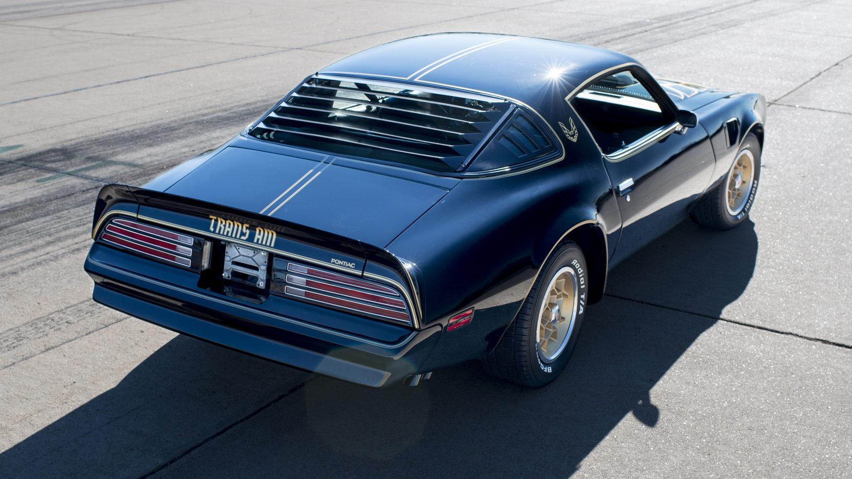 1976 Pontiac Firebird Trans Am 3/4 rear high