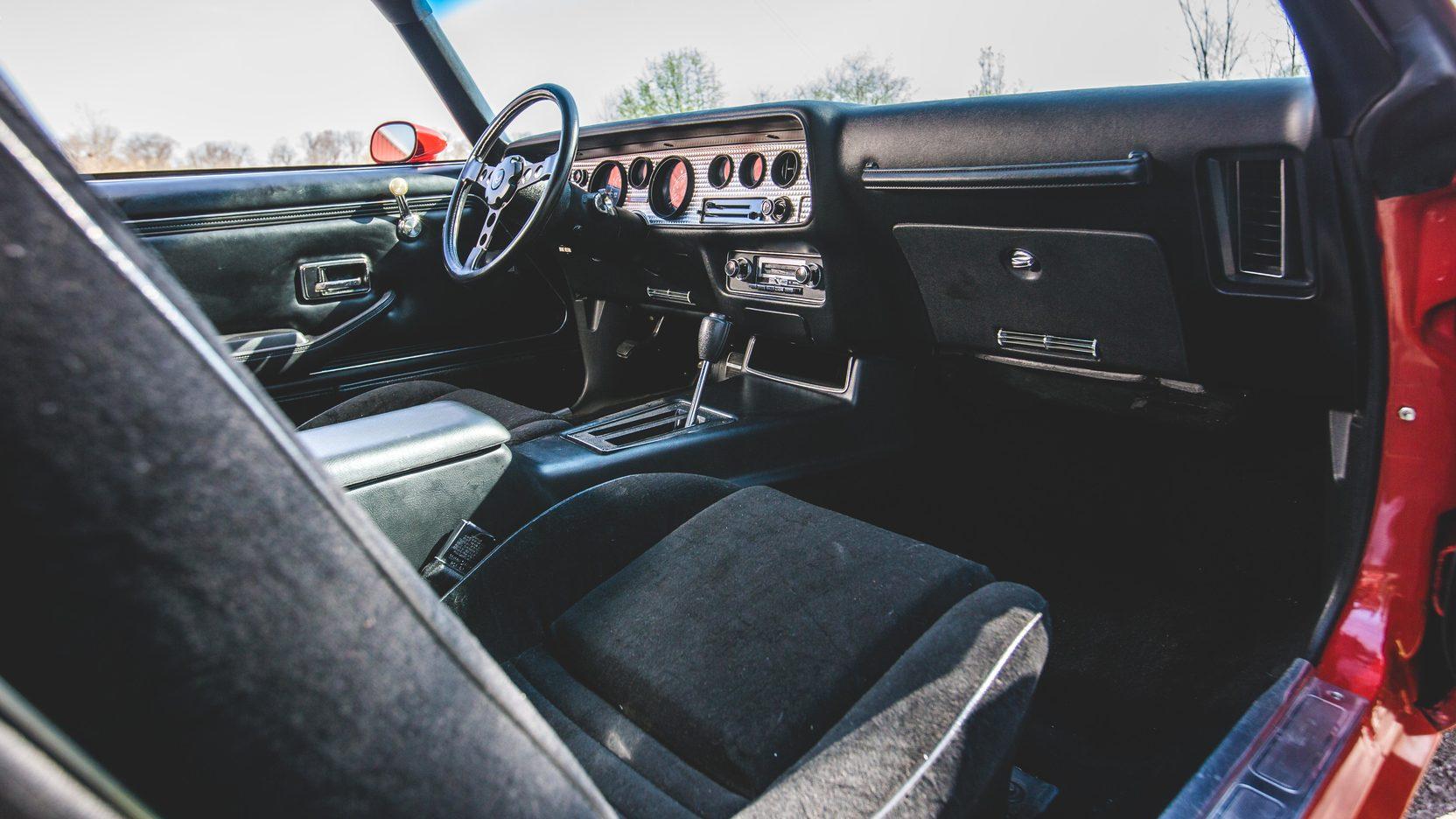 1978 Pontiac Firebird Trans Am interior