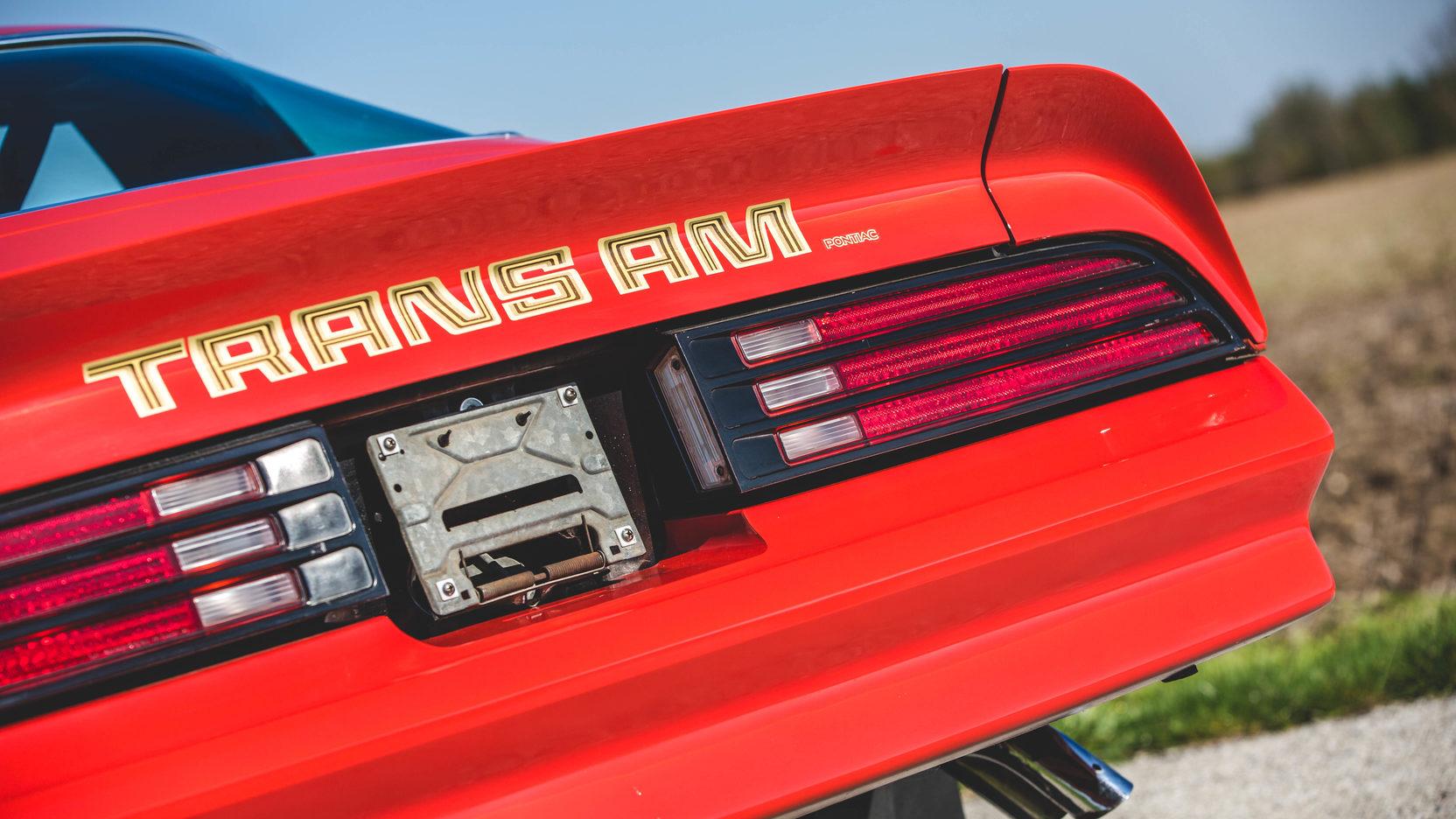 1978 Pontiac Firebird Trans Am taillights