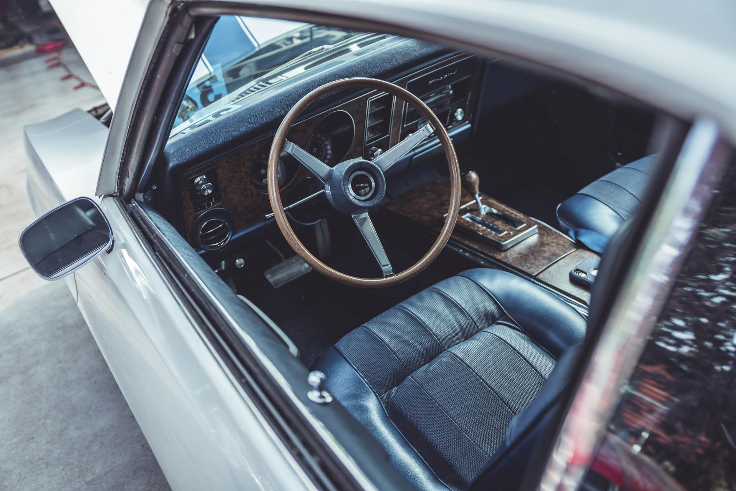 1st Pontiac TA interior