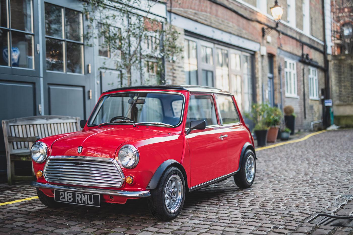 E Classic Mini front 3/4