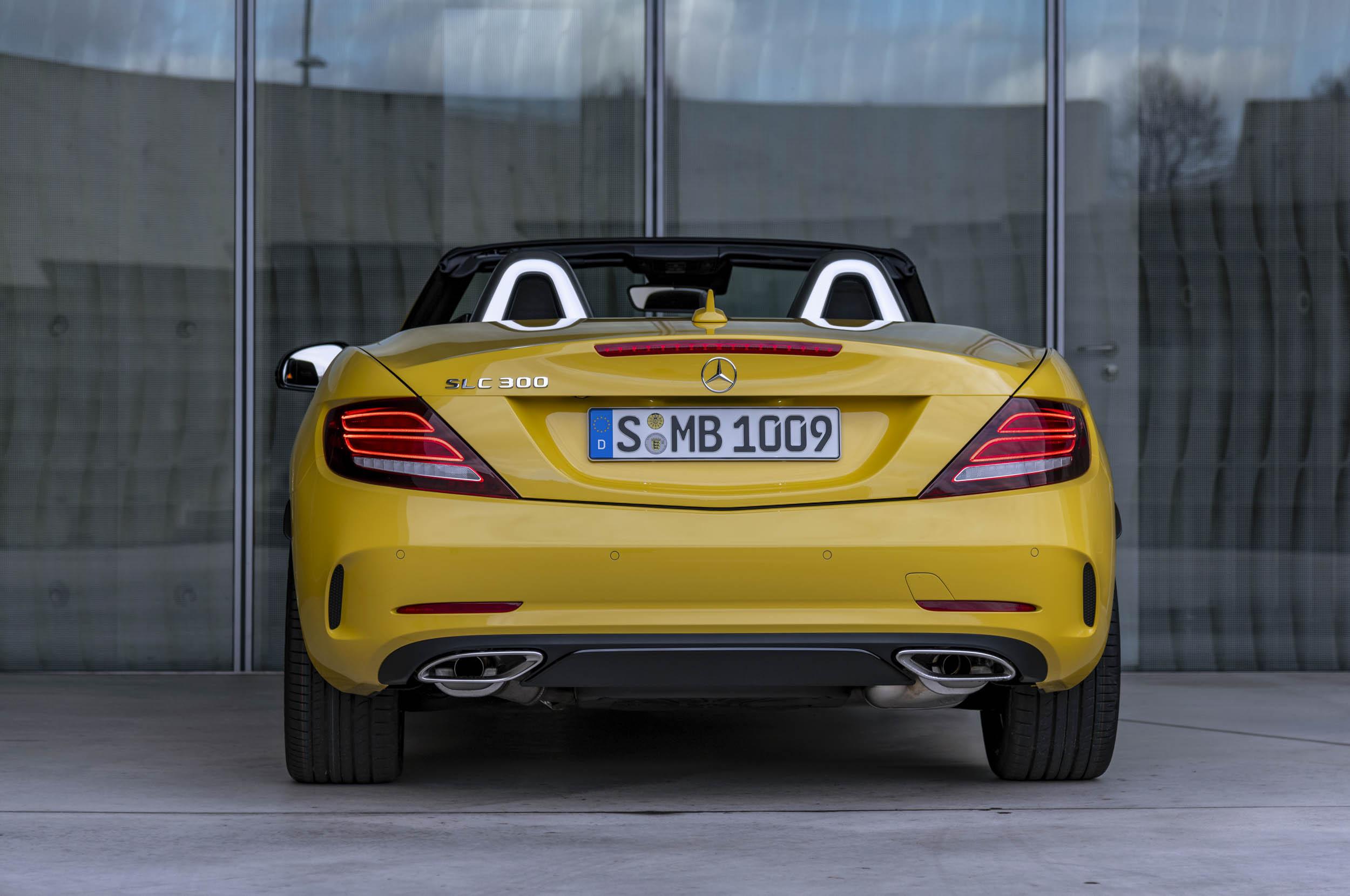 2020 Mercedes-Benz SLC Final Edition rear