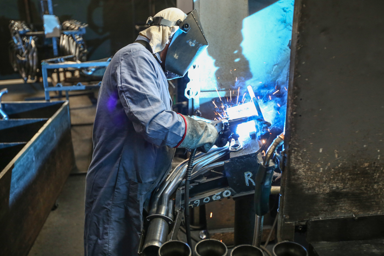 Hedman headers welding
