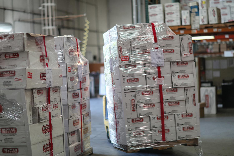 Hedman headers boxes packages