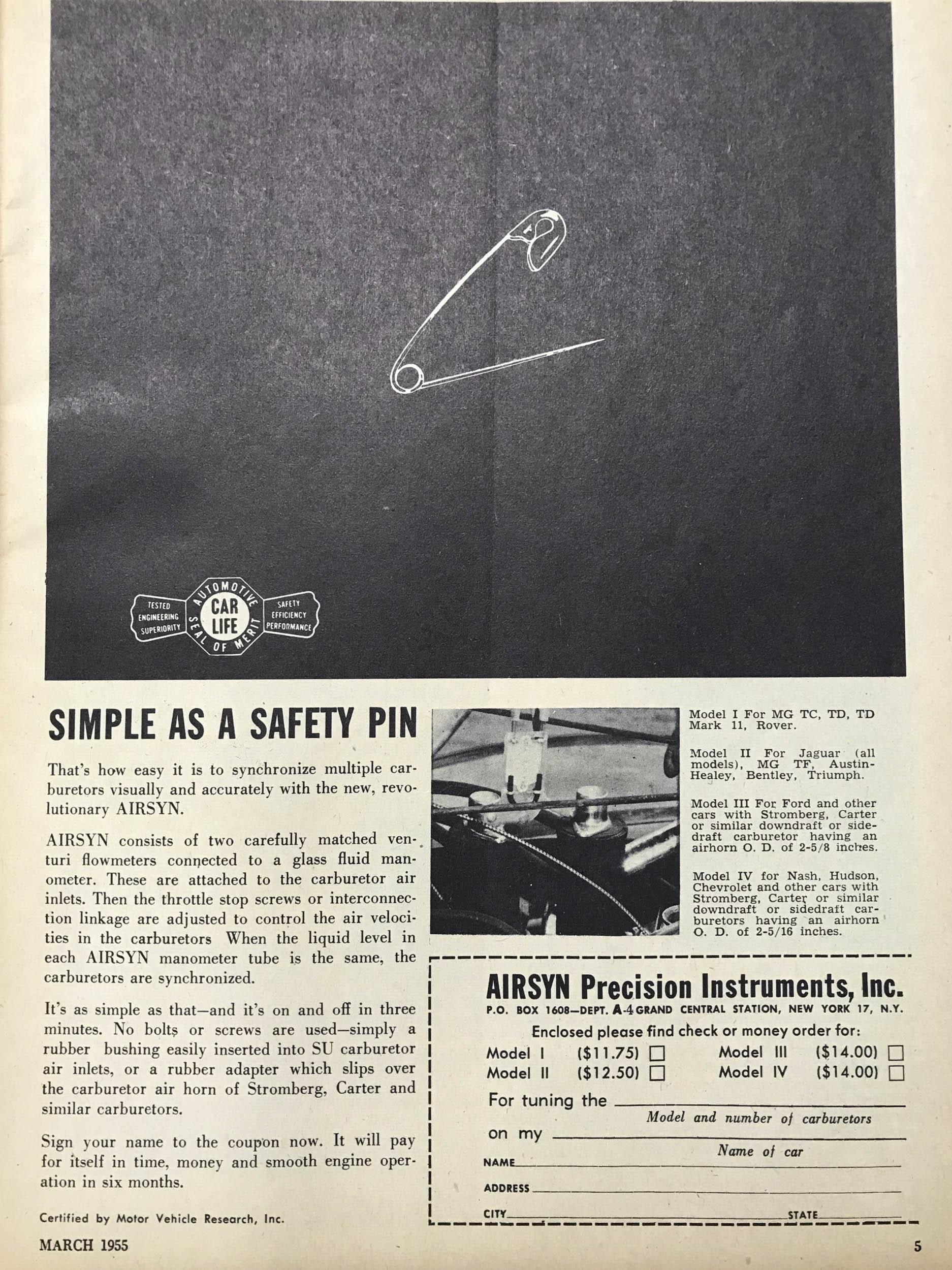 AIRSYN Manometer (1955)