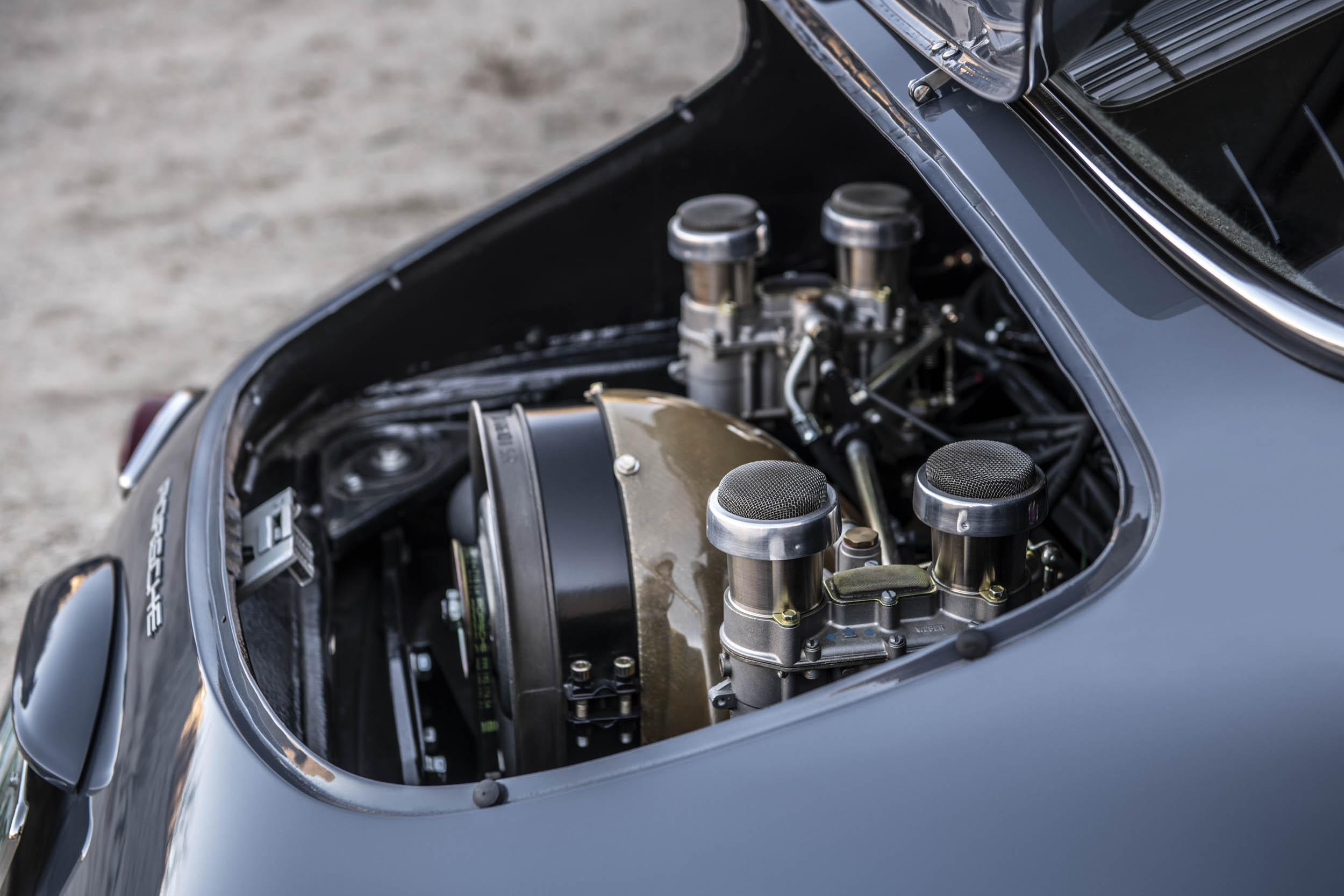 Emory Porsche 356 C4S Allrad engine