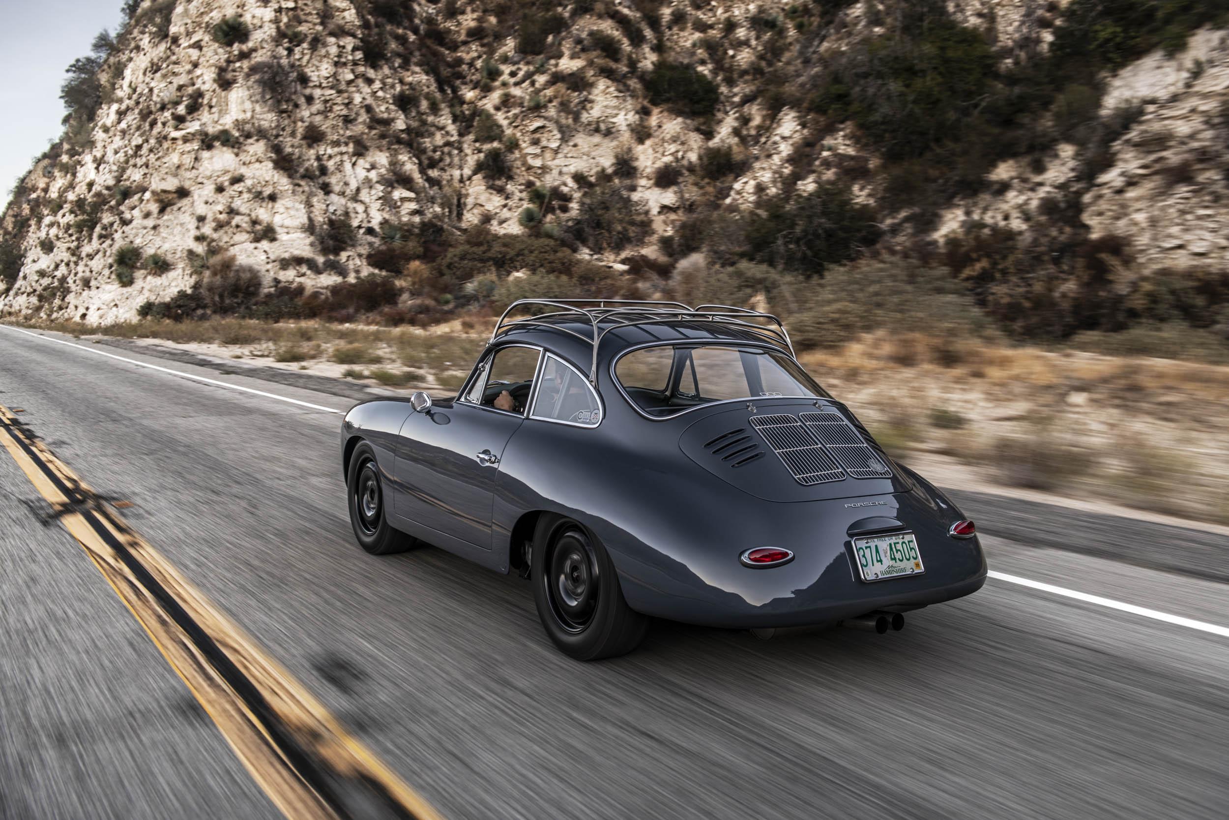 Emory Porsche 356 C4S Allrad driving rear 3/4