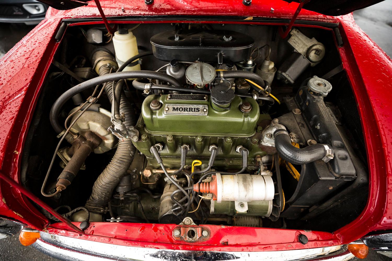 old mini morris engine