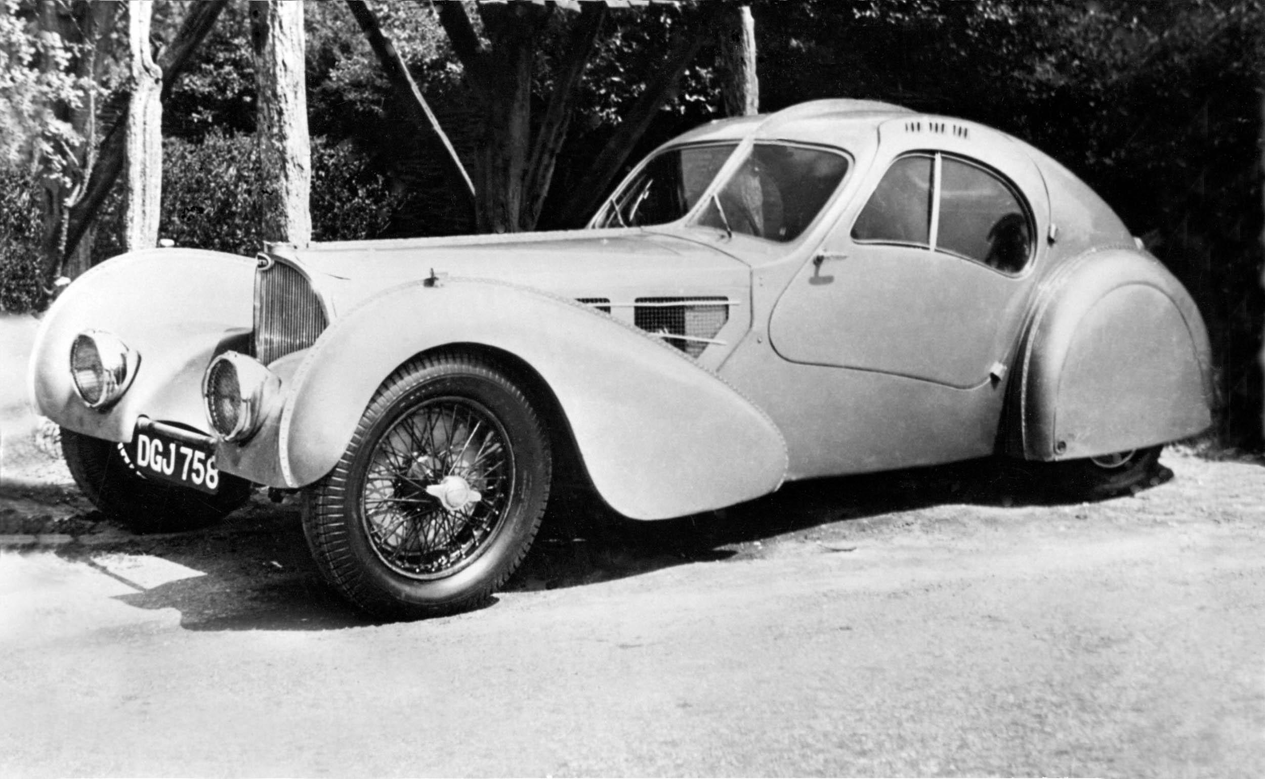 1935 Bugatti Atlantic Rothschild Car