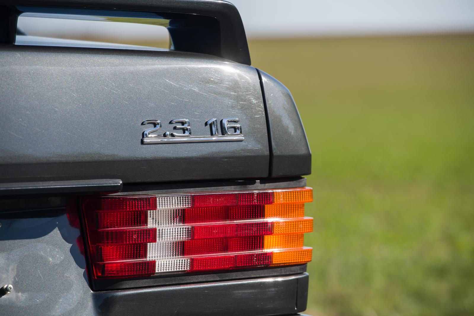 1985 Mercedes-Benz 190E 2.3-16 Sports Saloon badge