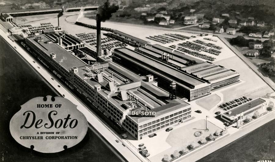 Desoto manufacturing plant