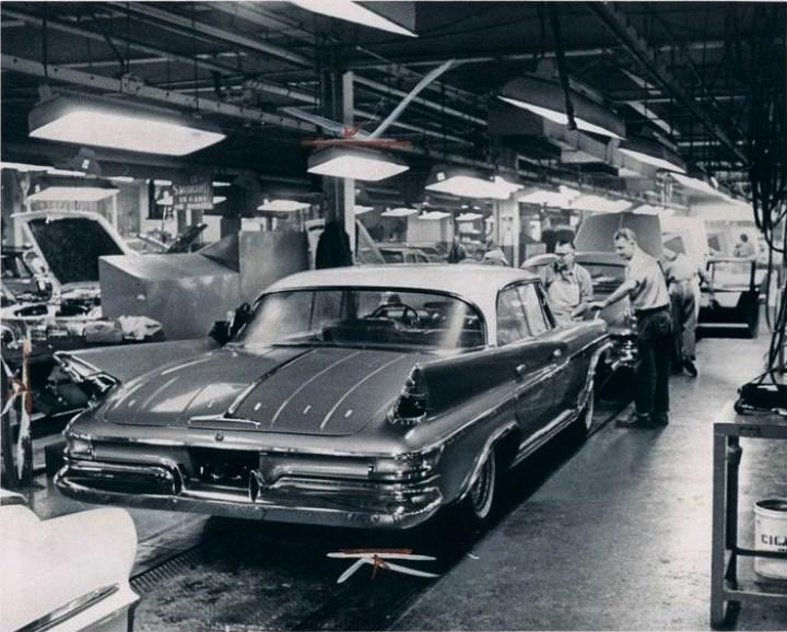 Desoto production line