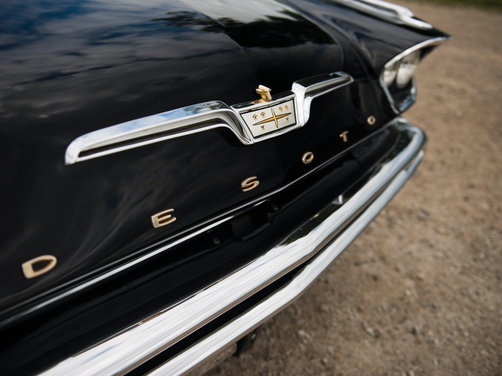 1957 DeSoto Adventurer Convertible desoto hood detail