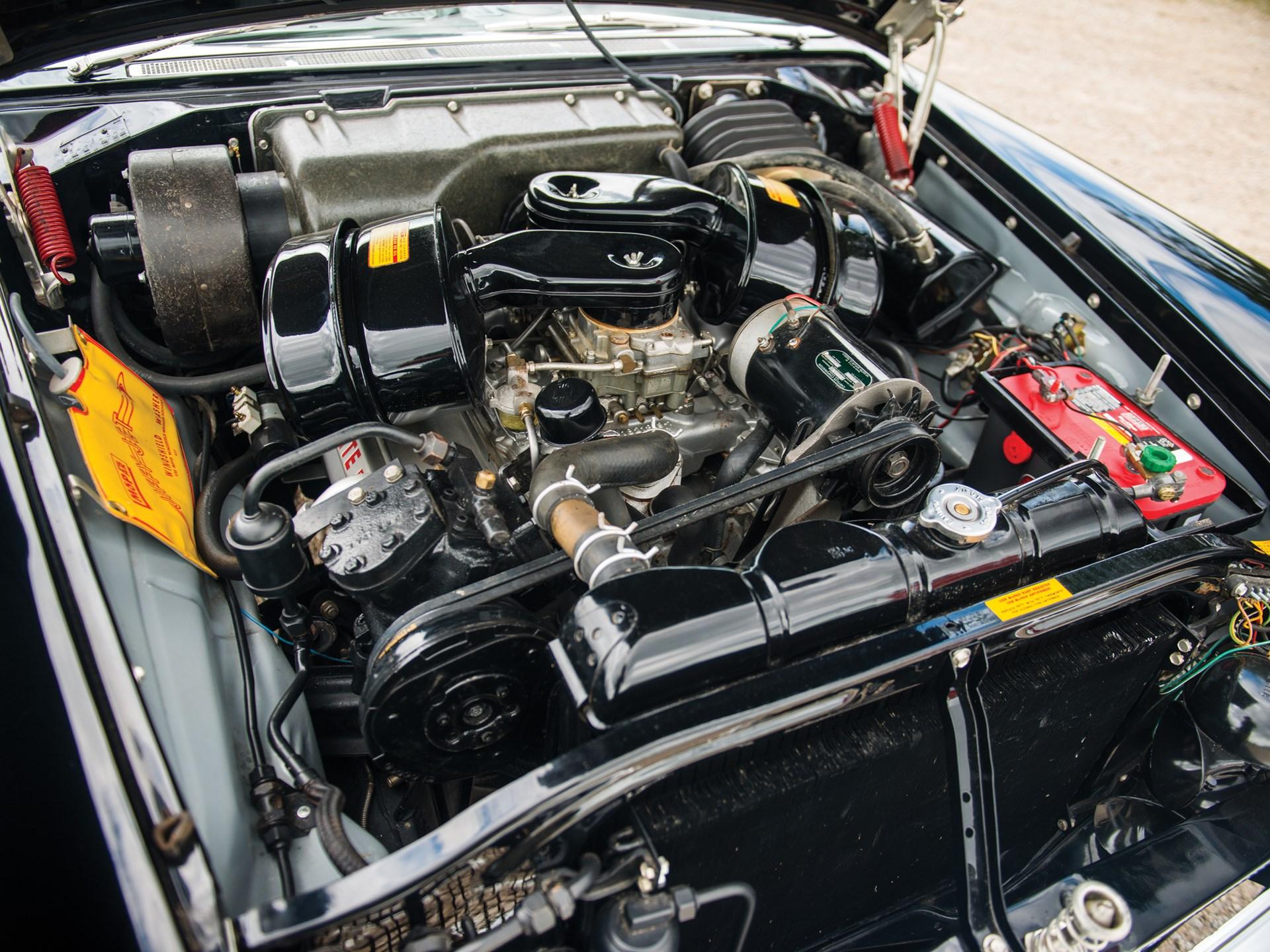 1957 DeSoto Adventurer Convertible engine