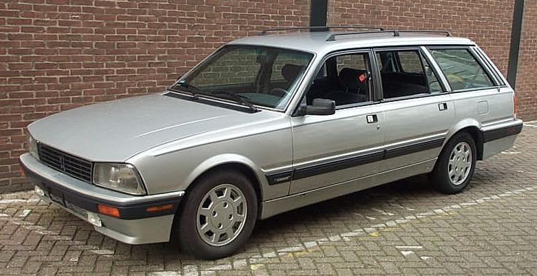 1991 Peugeot 505 Turbo Station Wagon