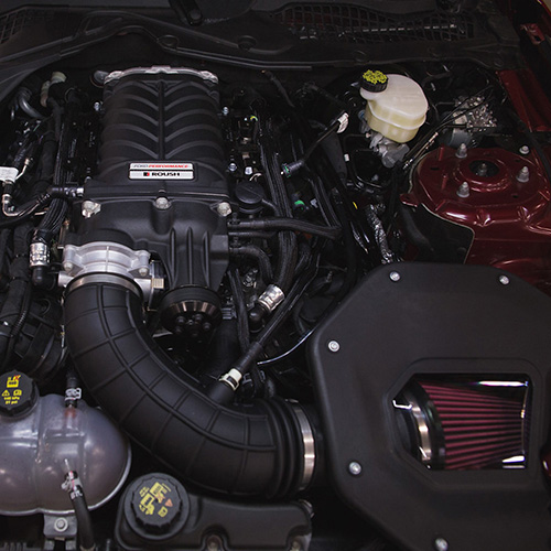 Mustang GT Supercharger