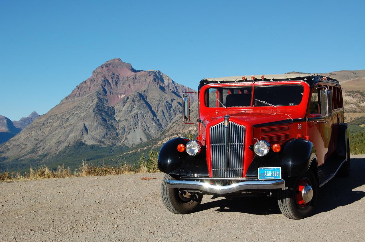 Glacier National Park 3/4 front