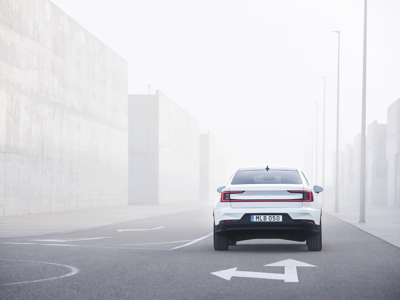 Polestar 2 rear fog
