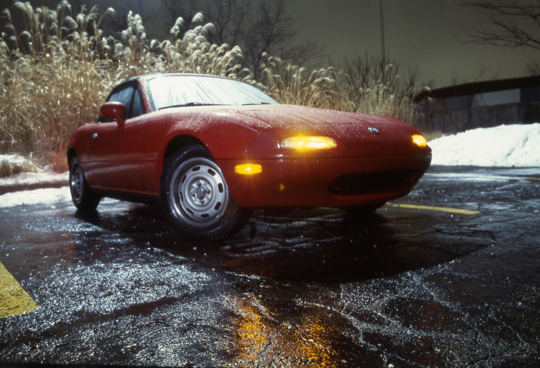 winter driving na miata