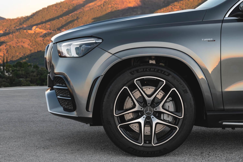 Mercedes-AMG GLE 53 wheel detail
