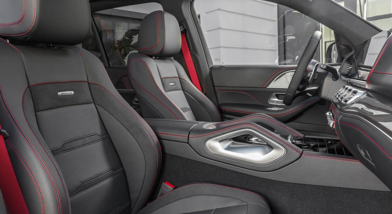 Mercedes-AMG GLE 53 seat detail