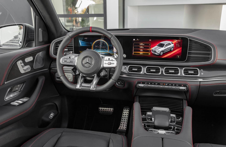 Mercedes-AMG GLE 53 interior