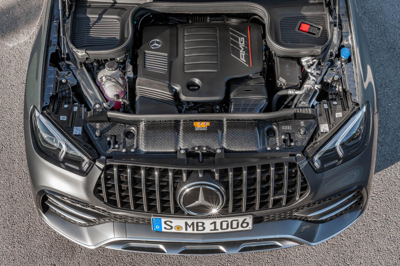 Mercedes-AMG GLE 53 engine