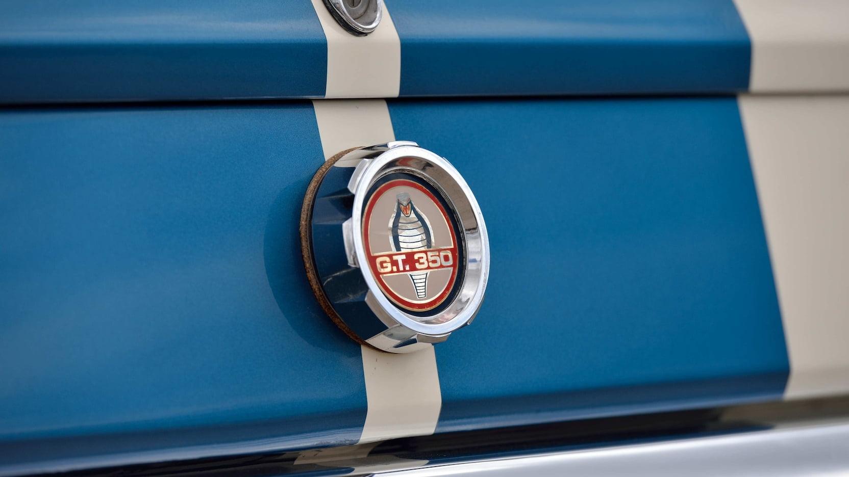 1966 Shelby GT350 gas cap