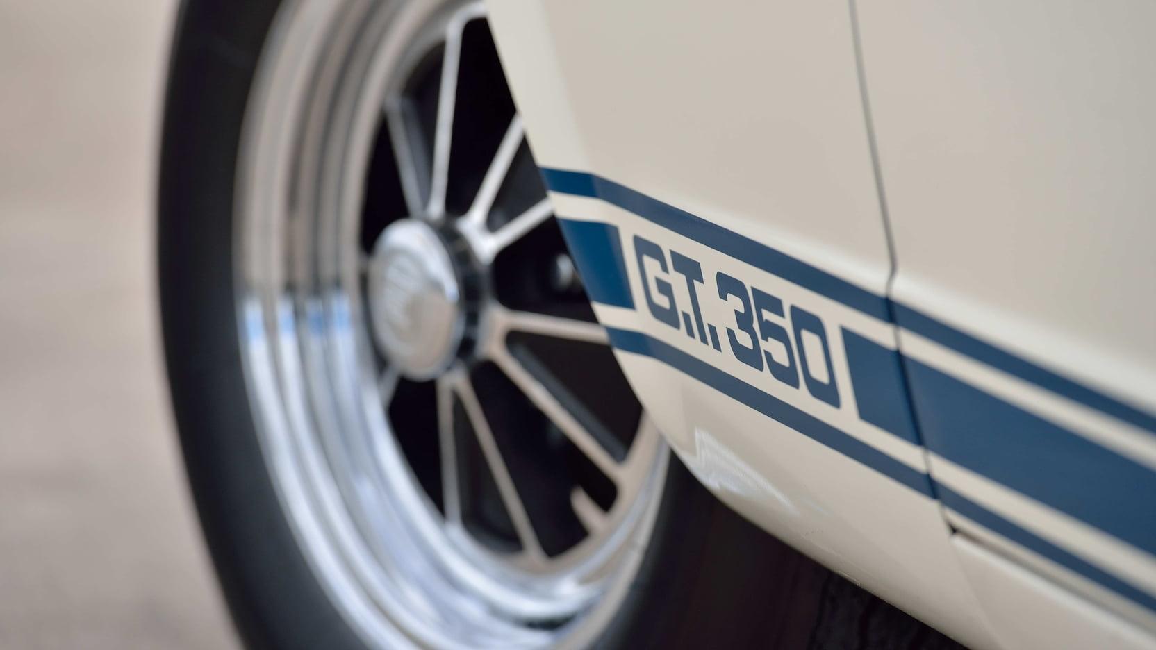 1966 Shelby GT350 logo