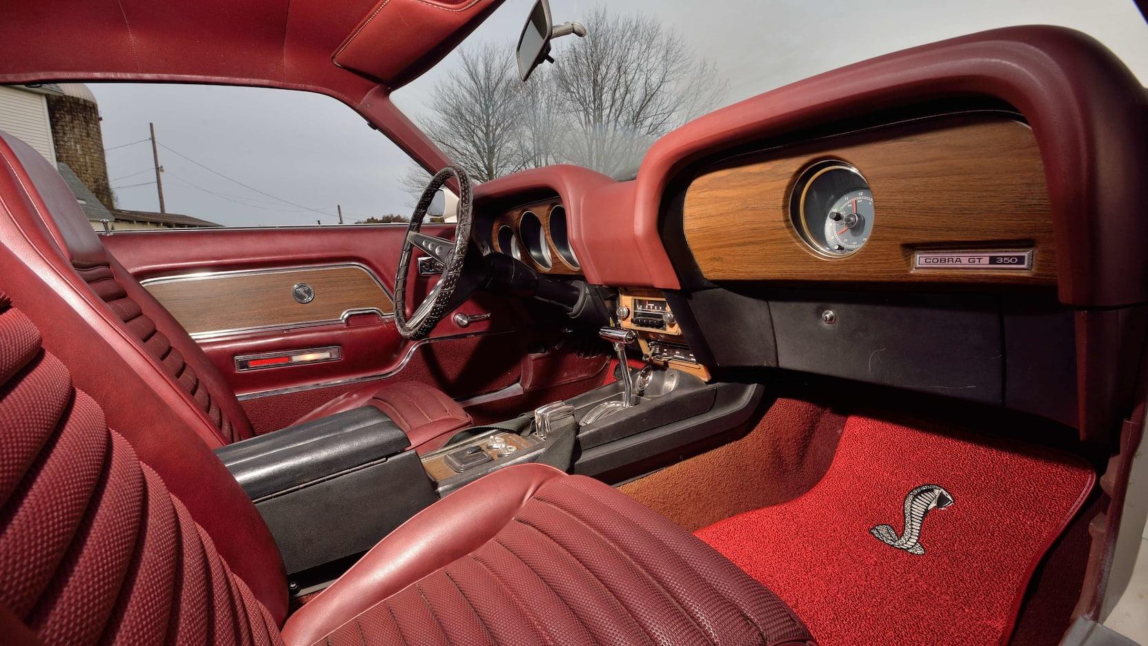 1970 Shelby GT350 interior passenger