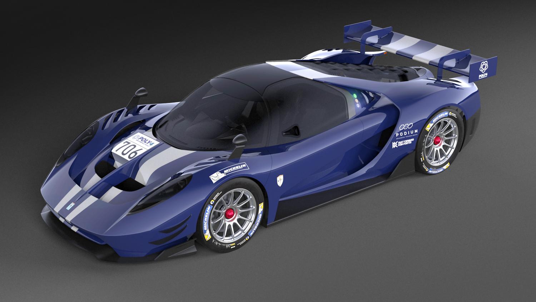 SCG004 3/4 front blue