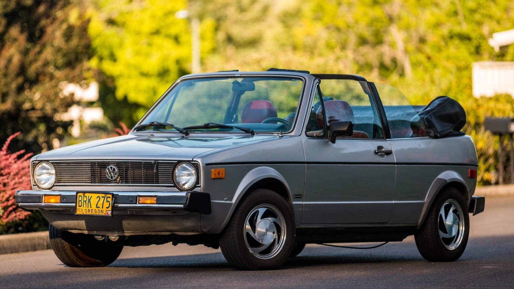 1980 Volkswagen Rabbit convertible