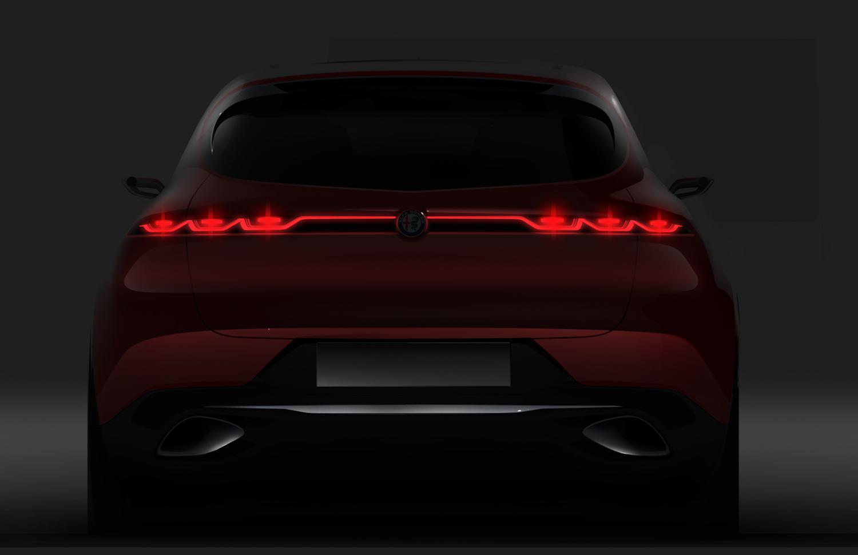 Alfa Romeo Tonale concept rear