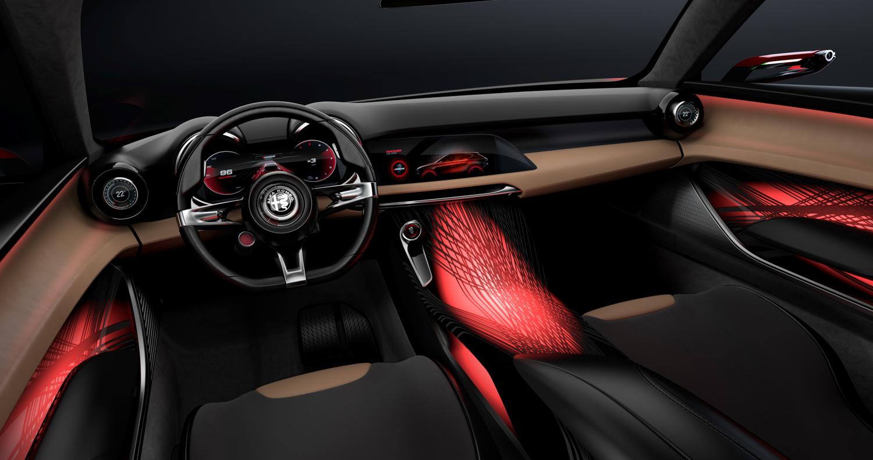 Alfa Romeo Tonale concept interior driver