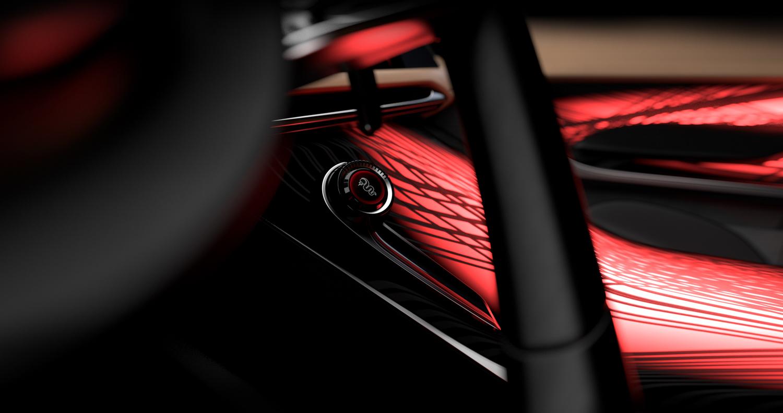 Alfa Romeo Tonale concept start button