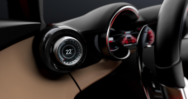 Alfa Romeo Tonale concept thermostat