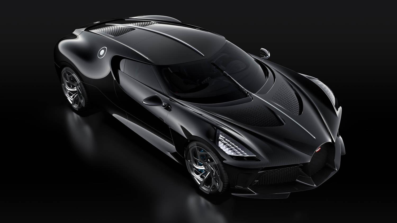 "Bugatti ""La Voiture Noire"" elevated front 3/4"