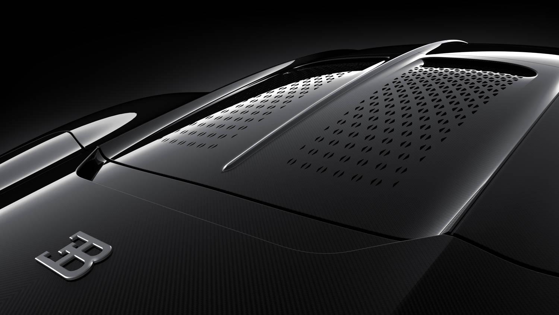 "Bugatti ""La Voiture Noire"" hood pattern"