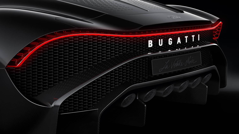 """Bugatti """"La Voiture Noire"""" exhaust"""
