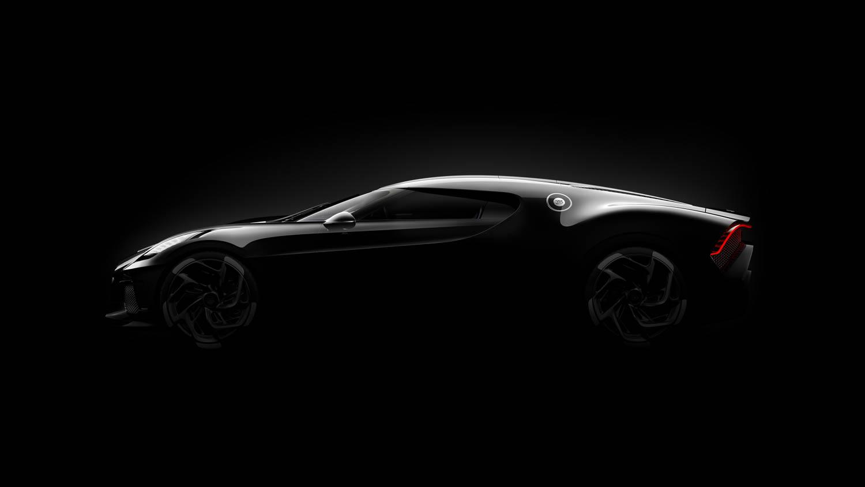 """Bugatti """"La Voiture Noire"""" profile"""