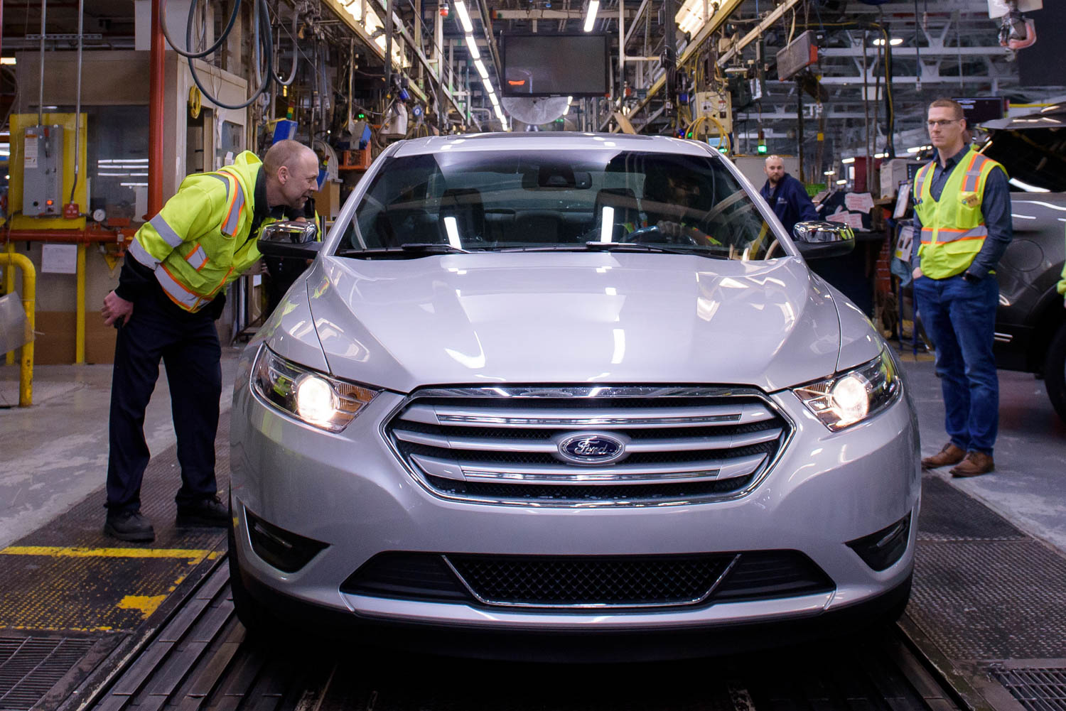 The last Ford Taurus produced