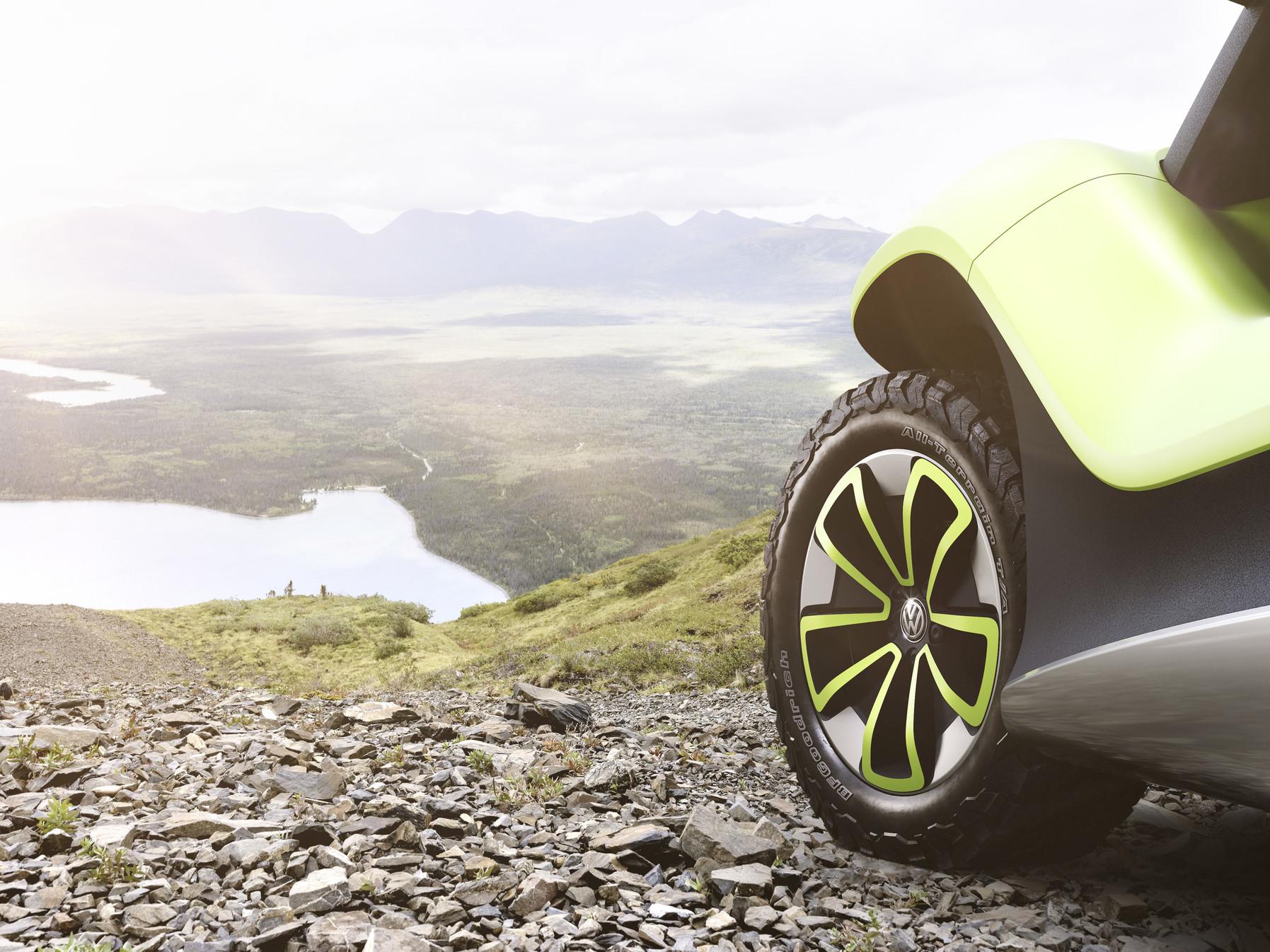 Volkswagen I.D. Buggy wheel detail
