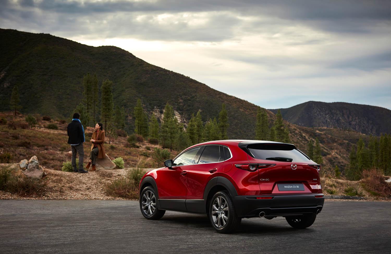 Mazda CX-30 rear 3/4